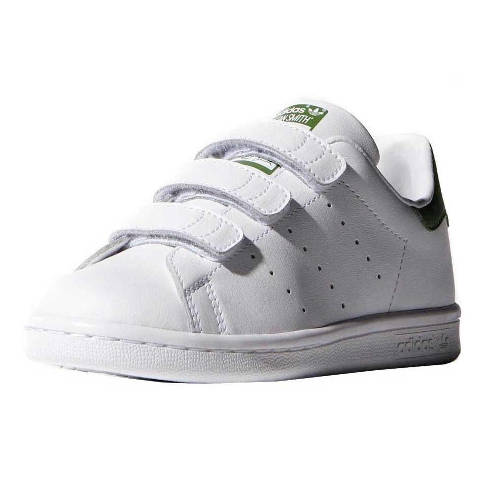 adidas Originals Stan Smith Cf I Ftwr WhiteGreen Vita Skor