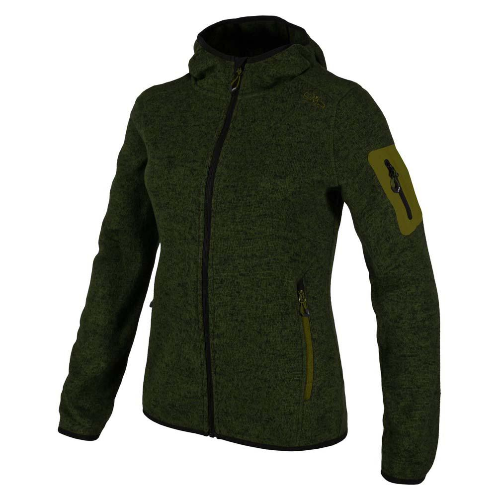 eedbc9f101f7 Cmp Jacket Fix Hood Green buy and offers on Outletinn