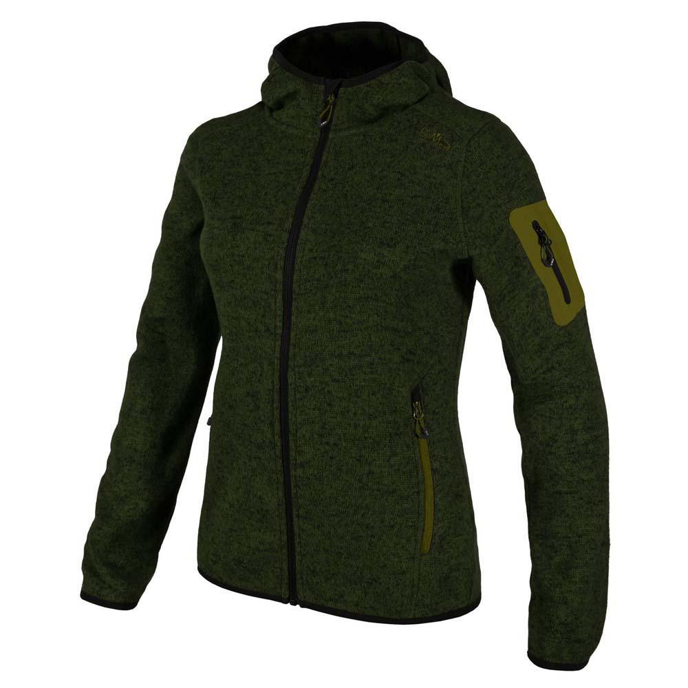 b5e7d1d7266 Cmp Jacket Fix Hood Green buy and offers on Outletinn