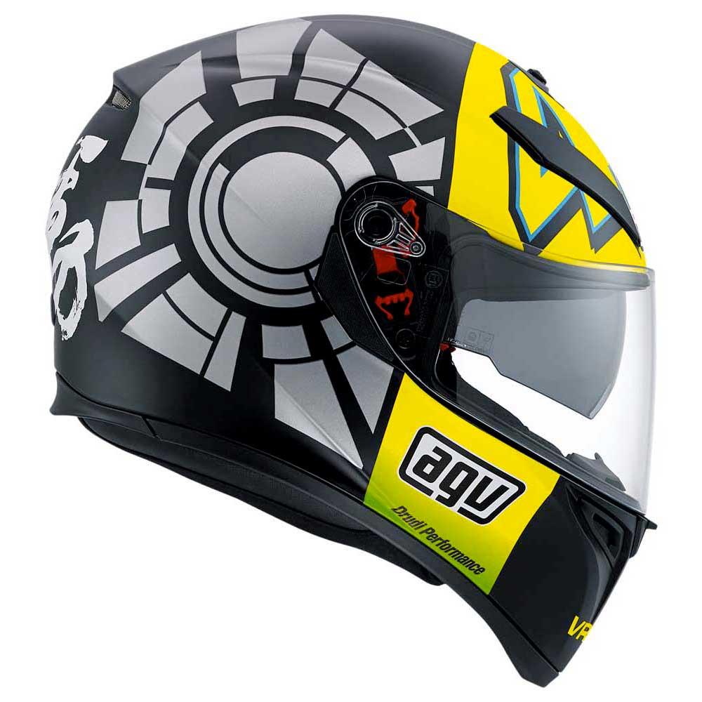 Agv K3 Sv Winter Test 2012 Pinlock Rossi Replica Black Outletinn Visor Helm