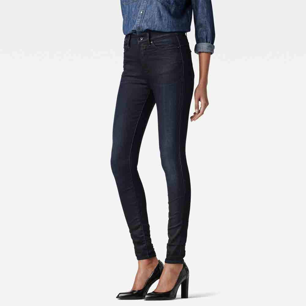 Gstar Midge Zip Ultra High Waist Super Skinny L32
