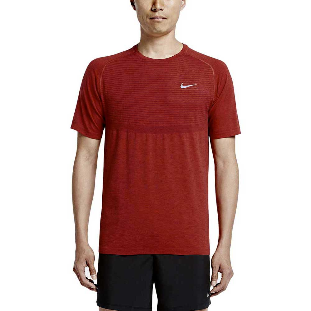 f01395d92e Nike Dri Fit Knit SS Rojo comprar y ofertas en Outletinn