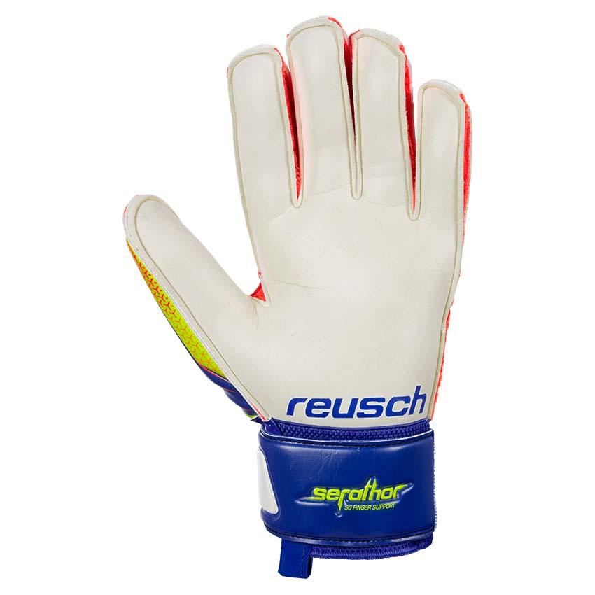 Reusch Serathor SG Finger Support Junior Blue 743fead2a