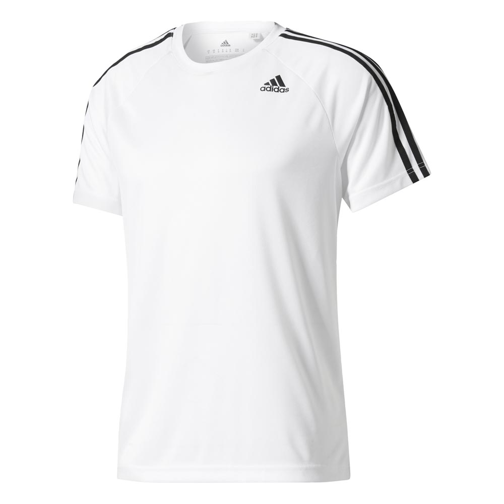 adidas Design 2 Move 3 Stripes White buy and offers on Outletinn 1228448a611