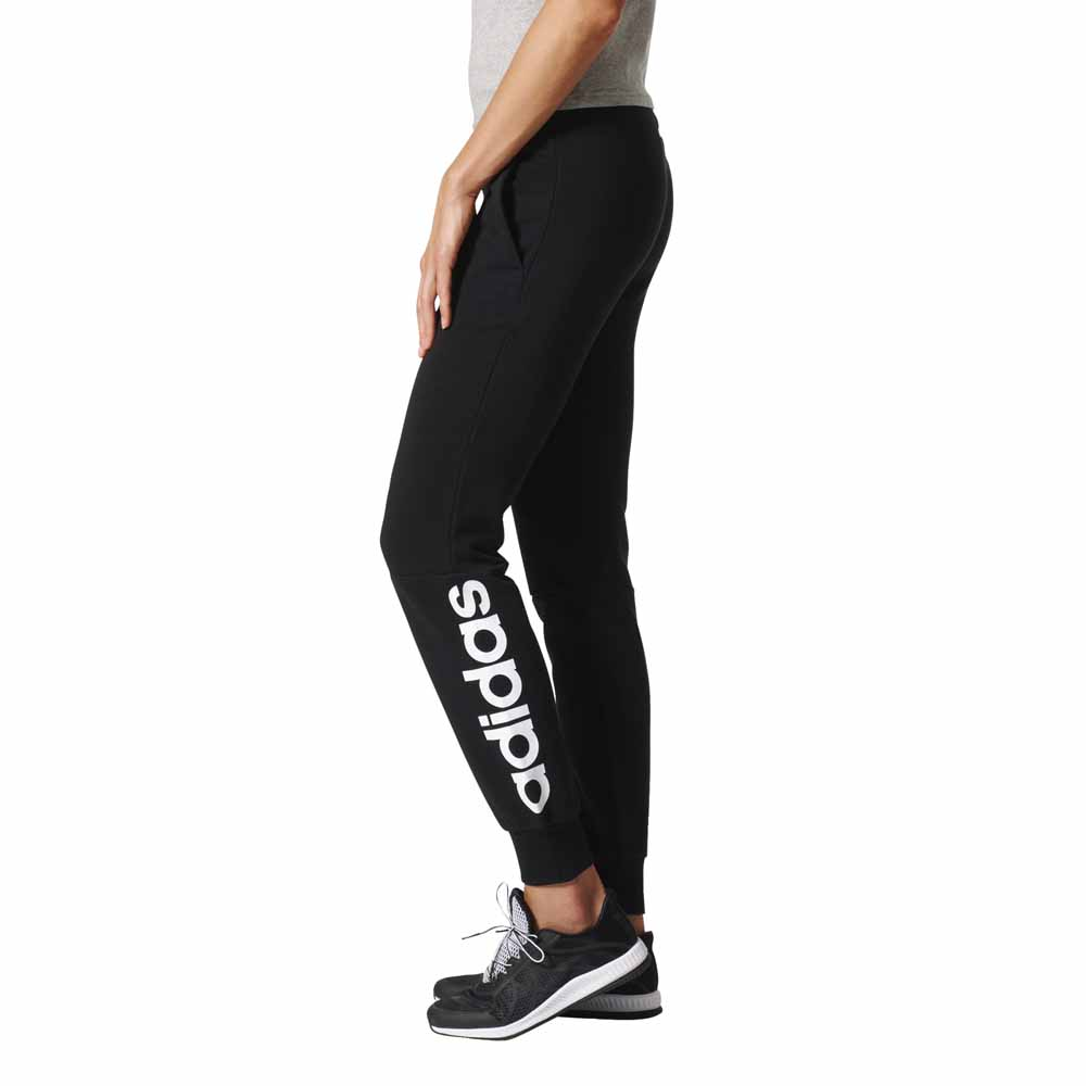 adidas Essentials Linear Pants Black buy and offers on Outletinn 4a156ec82a6