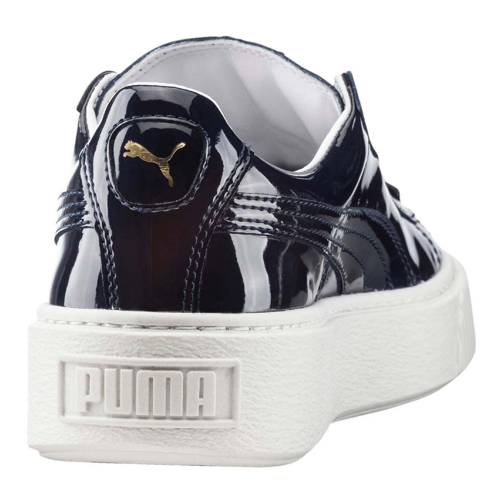 puma basket platform patent mujer