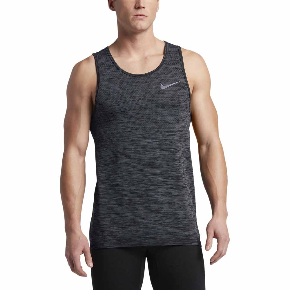 a9dc2af194e4d Nike Dri Fit Knit Tank Grey buy and offers on Outletinn