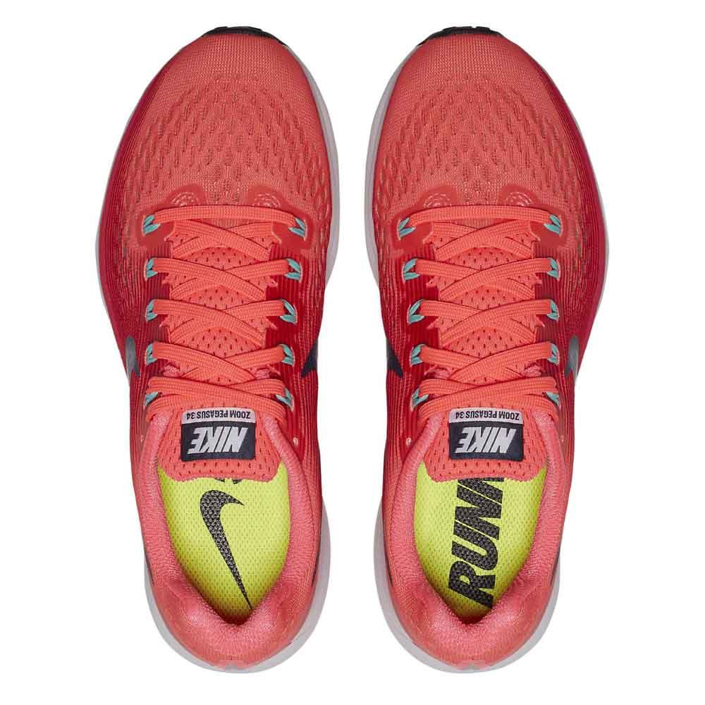 new products d1677 35a4f ... casual and durable - SJFGI763 - Mens Nike Zoom Pegasus 34 Red Orange  QR85 40- ... Nike Air Zoom Pegasus 34 .