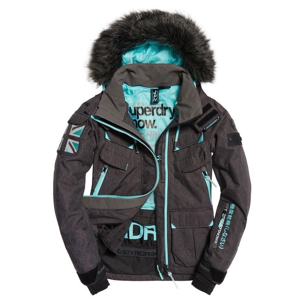 Blouson Ski Superdry Ultimate Snow Rescue Sulpher Yellow