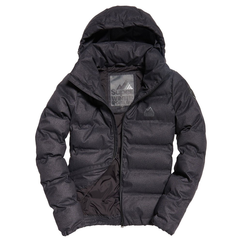 Superdry Echo Quilt Puffer Black buy and offers on Outletinn 7088ddc42712