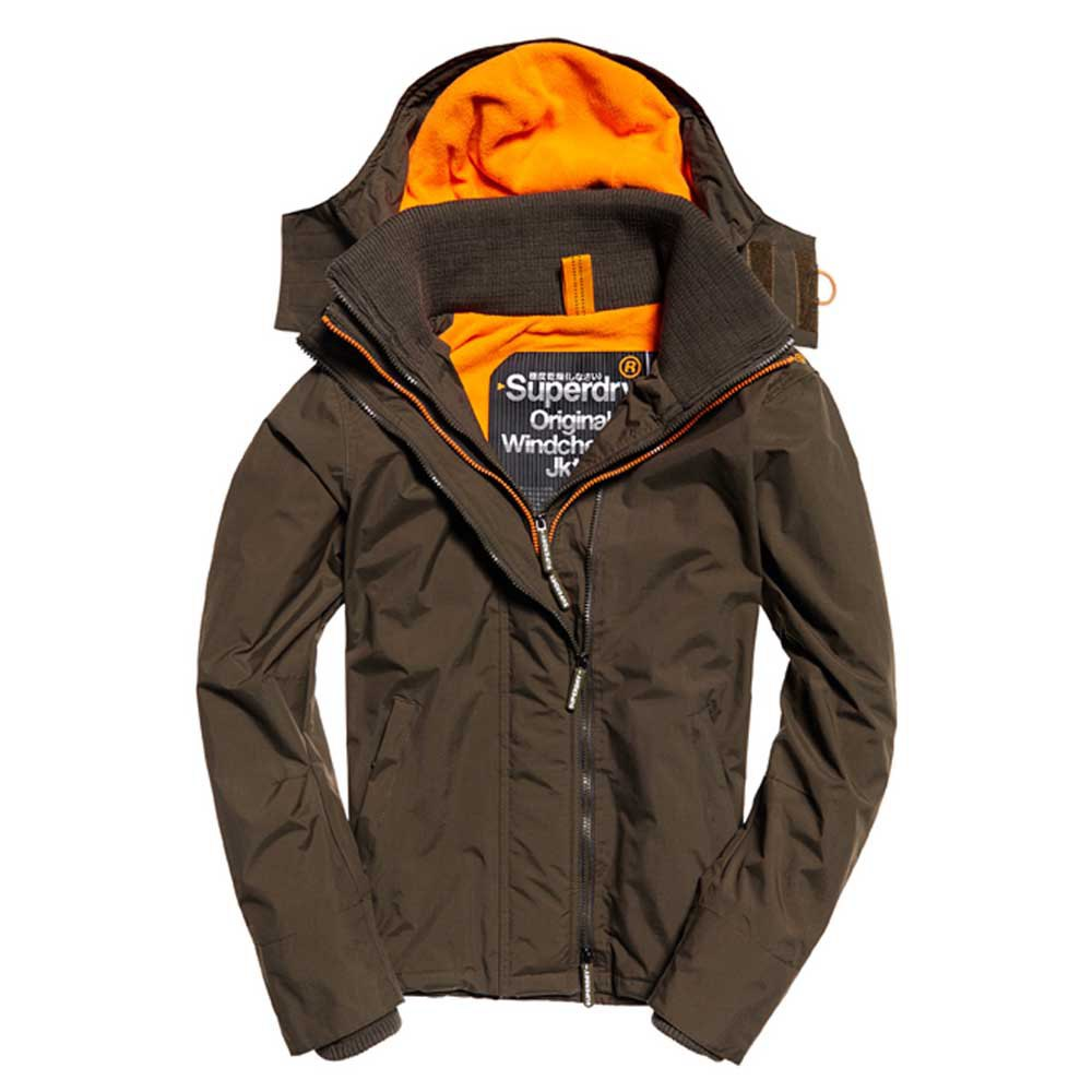 superdry jacke hooded arctic pop zip