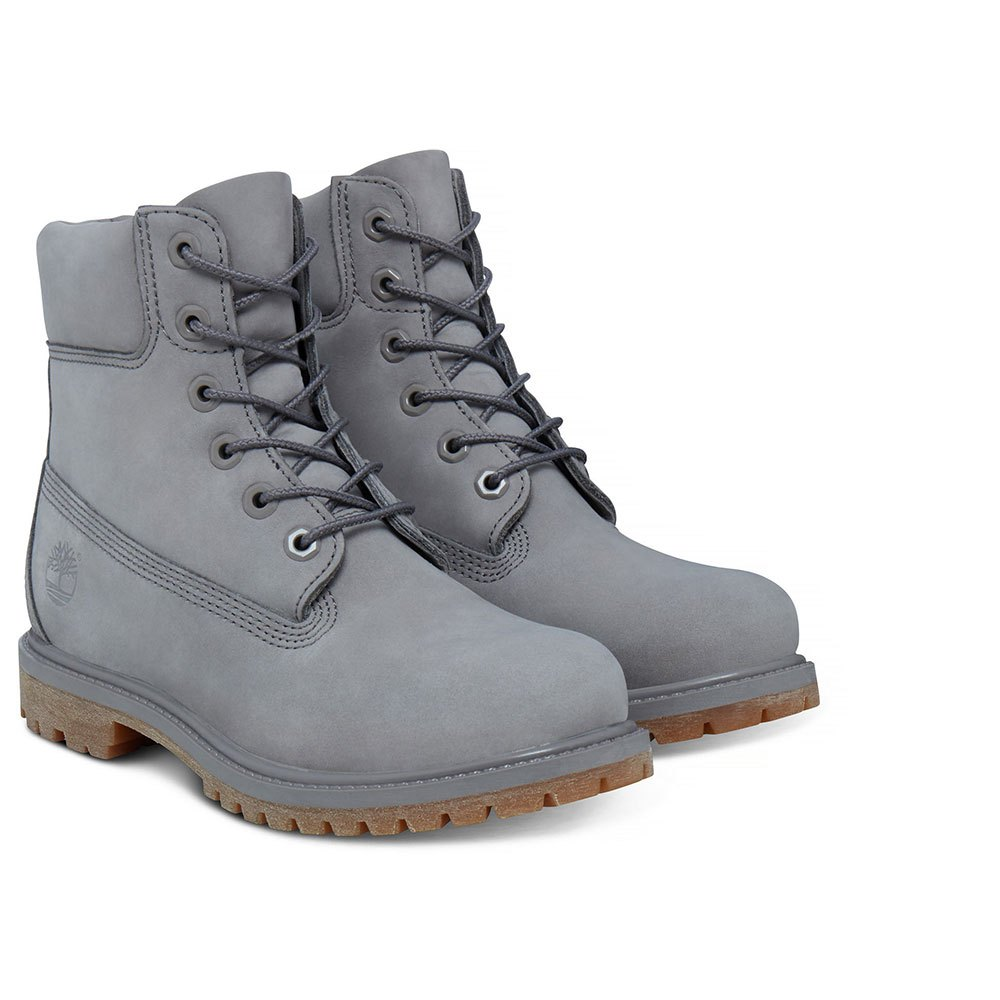 Timberland Icon 6 In Premium Waterproof Boot Wide Grey c984afb553e8