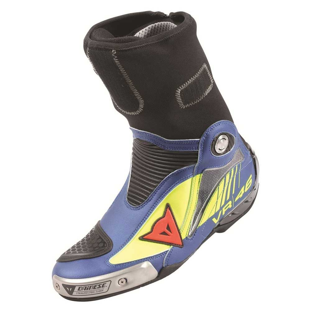 Dainese R Axial Pro In Replica D1 Boots Fluo Blue, Outletinn