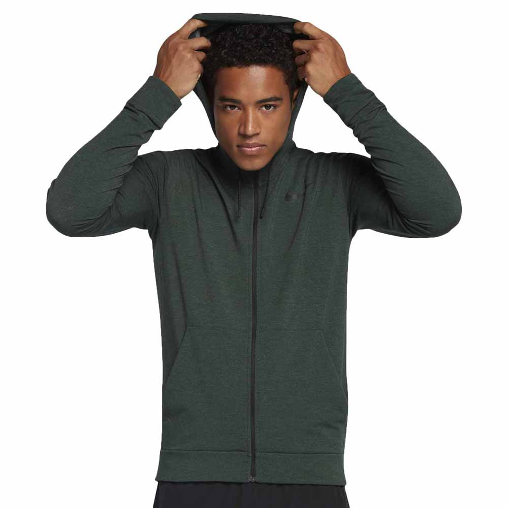 Nike DriFit Training Fleece Full Zip Hoodie