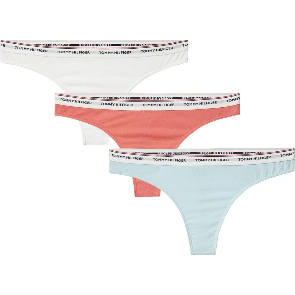 a234da5295d9 Tommy hilfiger 3P Cotton Thong buy and offers on Outletinn