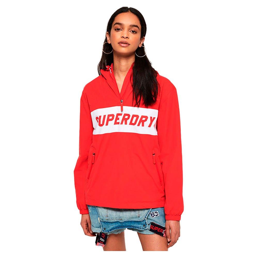 3486d7e12655 Superdry Hooded Half Zip Windbreaker