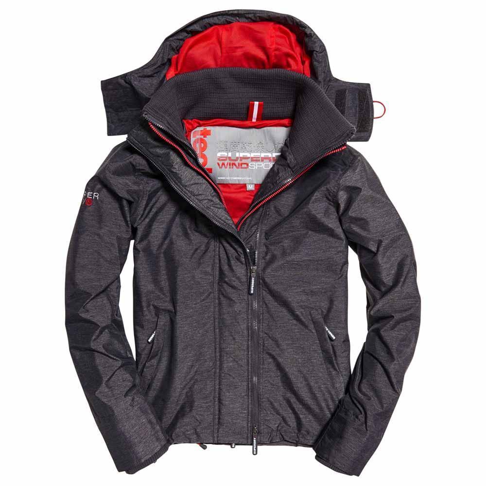 Superdry Mens /'Windcheater/' Hooded Pop Zip Jacket