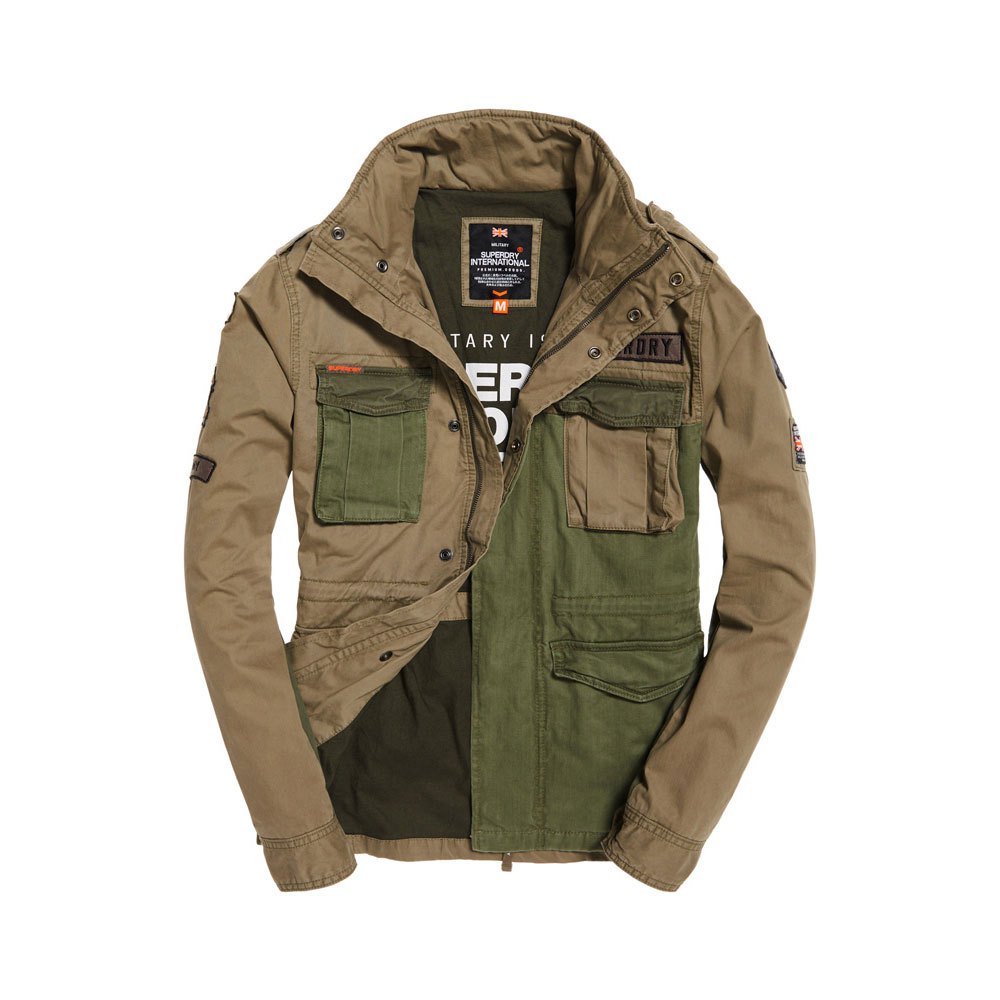 quality design f4c3e b816a Superdry Rookie Mixed Military