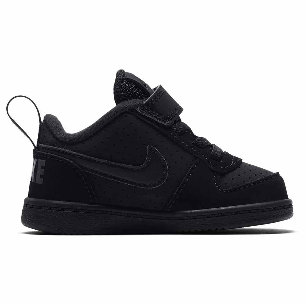 premium selection 702b0 1211b Nike Court Borough Low TDV Black buy and offers on Outletinn