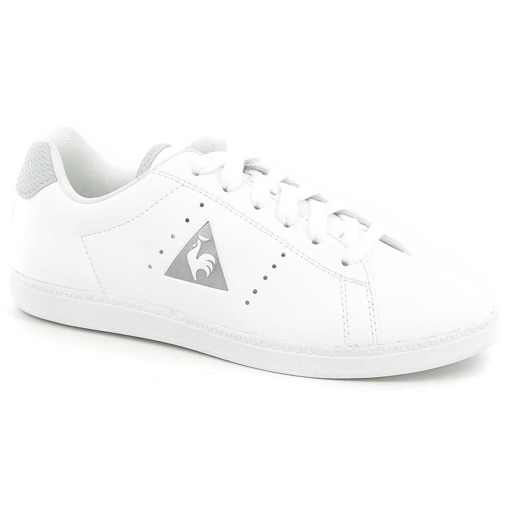 Le coq sportif Courtone Synthetic Leather/Metallic Mesh