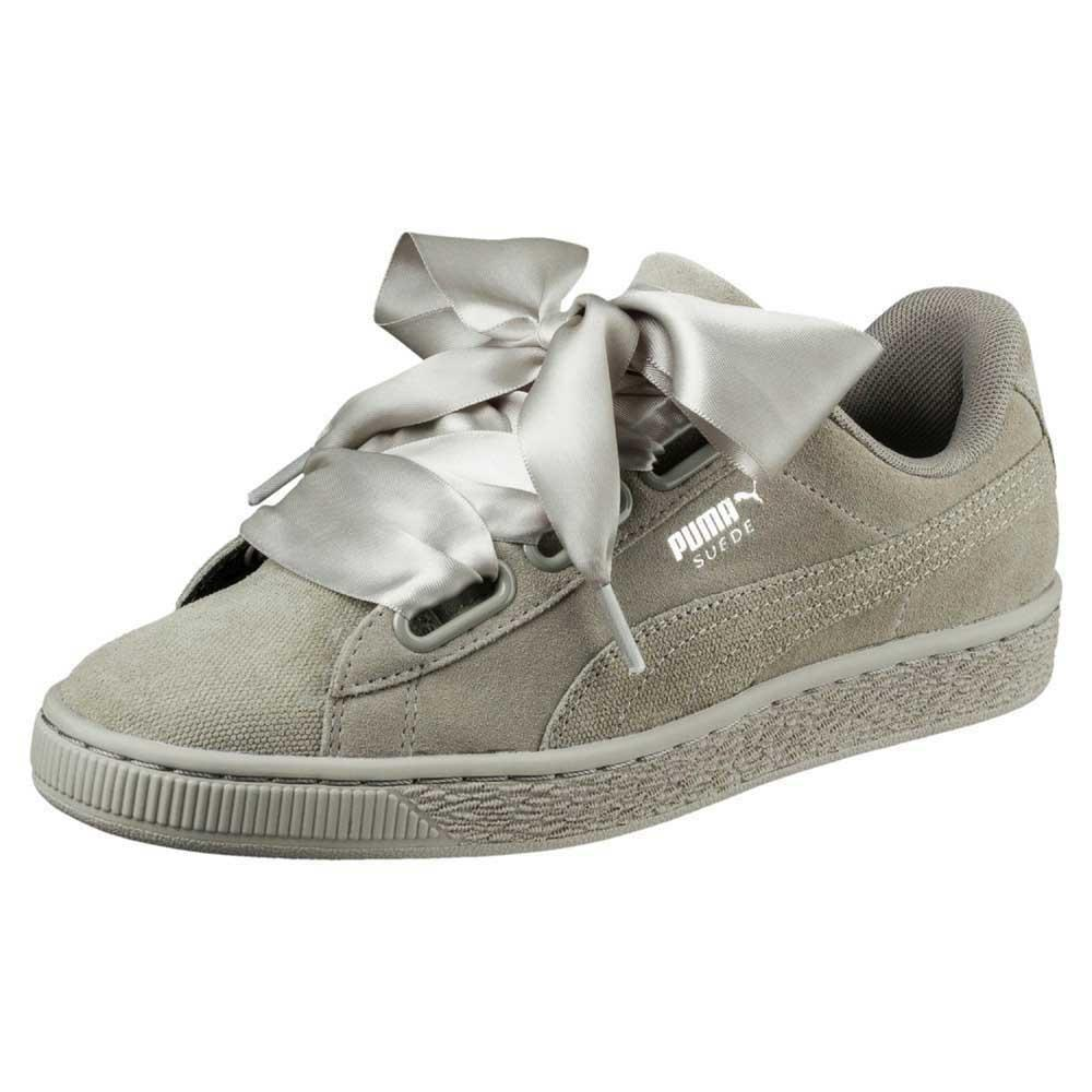 best sneakers 34d67 e0458 Puma select Suede Heart Pebble