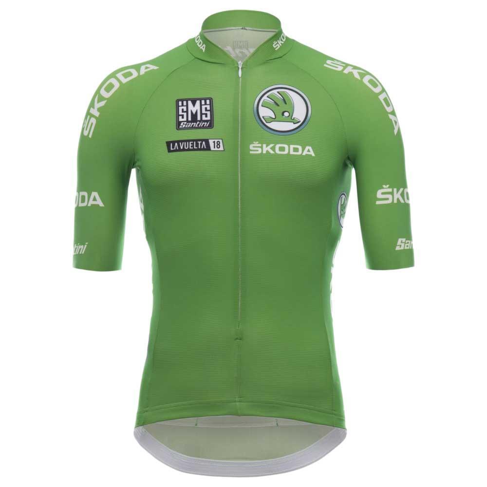 Santini Maillot Verde La Vuelta 2018 Verde 4343bbb53c487