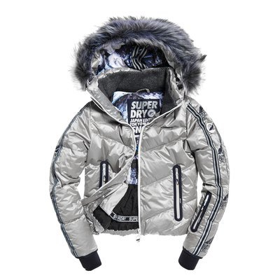 Superdry Damen Winterjacke Glacier Down Parka: