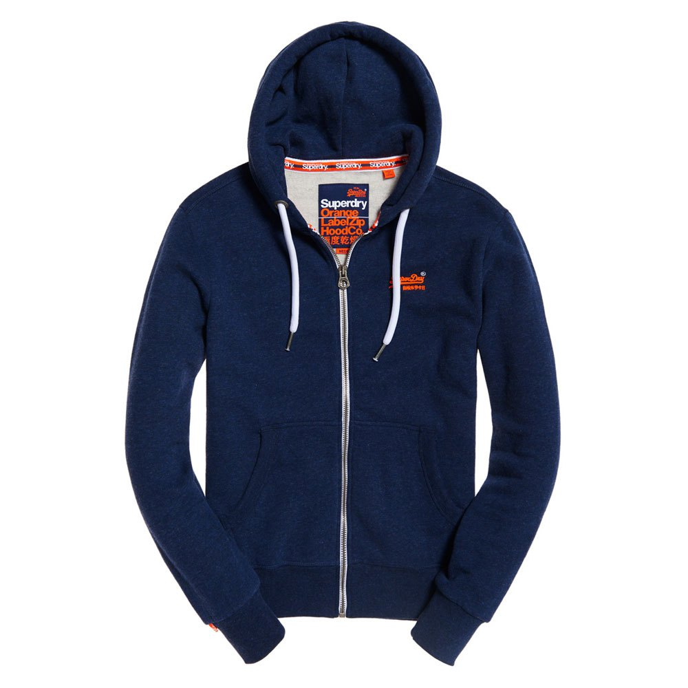 Superdry Orange Label Ziphood Blue buy and offers on Outletinn 17c037a6248b