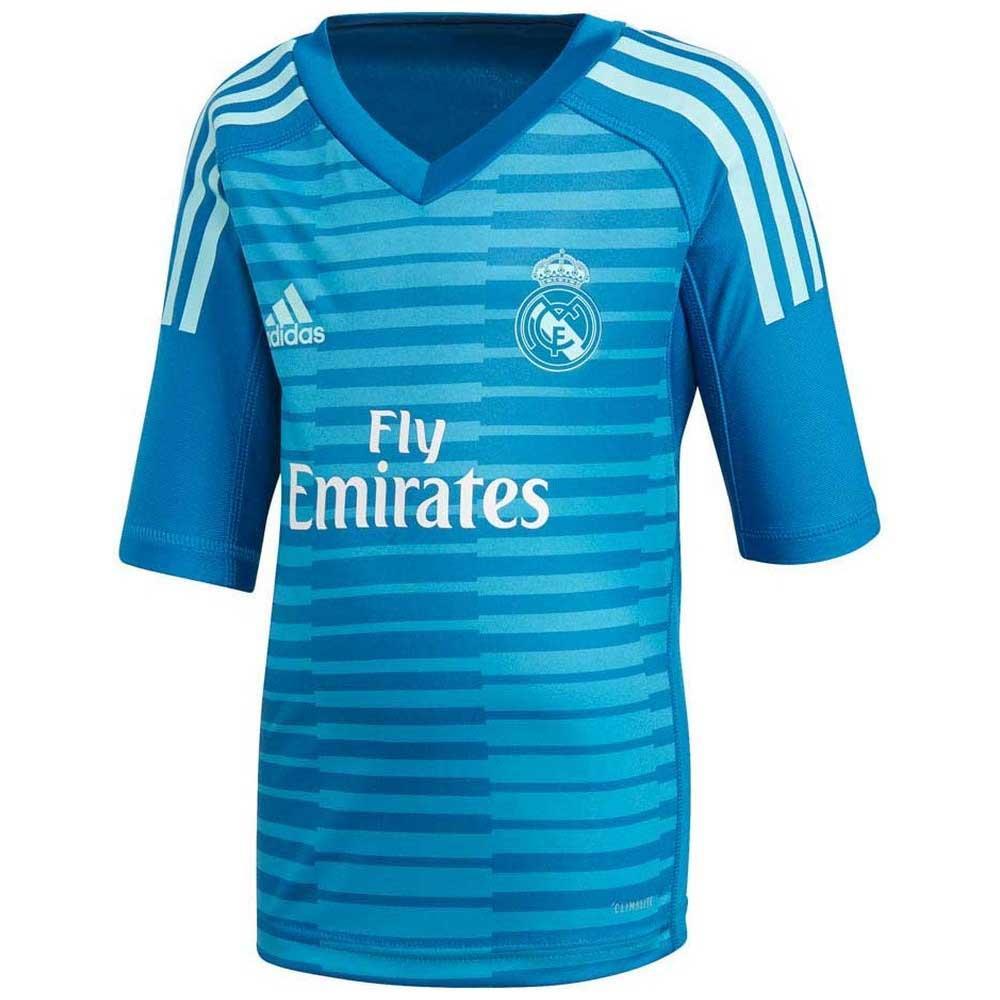 timeless design 1158c 32fca adidas Real Madrid Away Goalkeeper Kit 18/19 Junior
