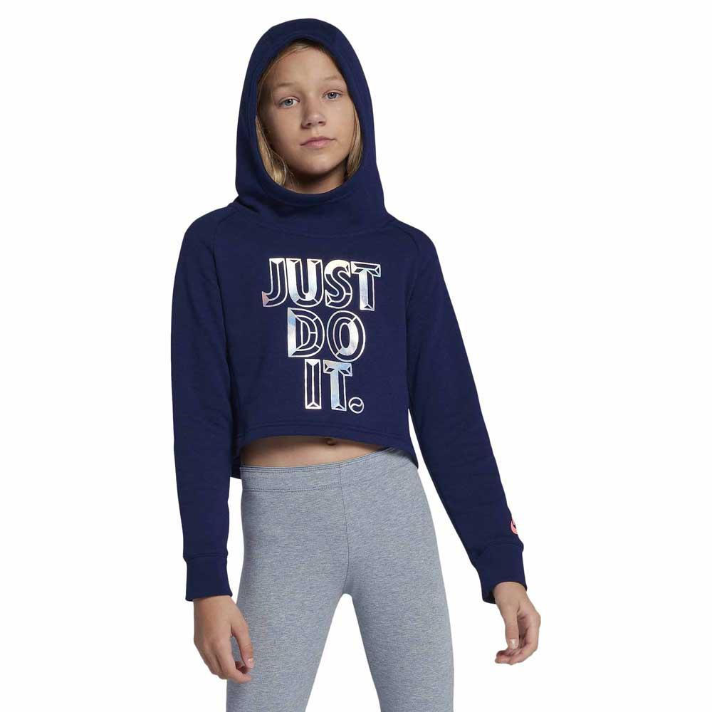 a25130e7576f Nike Sportswear Just Do It Crop Hoody