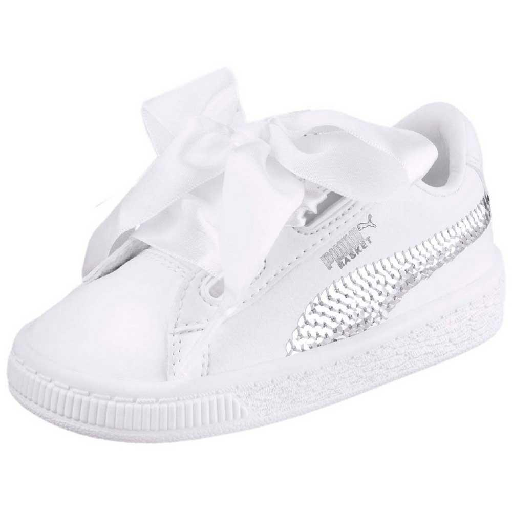 08e67c7a0c6dee Puma select Basket Heart Bling Infant