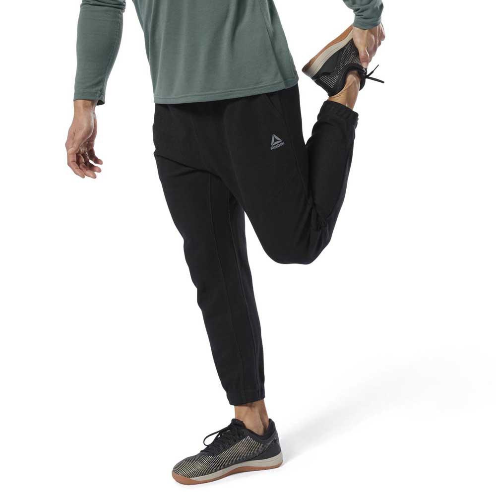 reebok tapered joggers