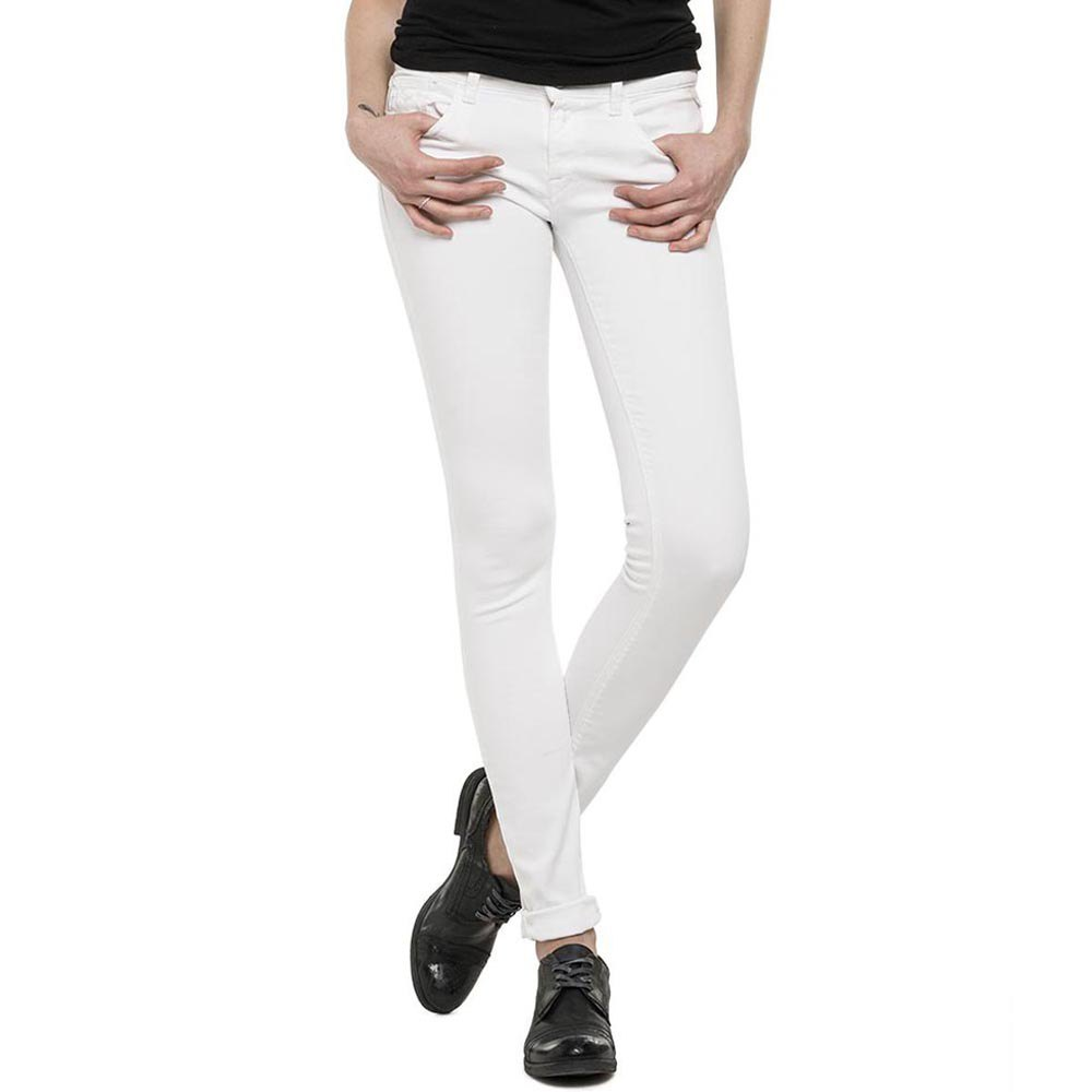 Vaqueros Luz Ankle Jeans Skinny white REPLAY