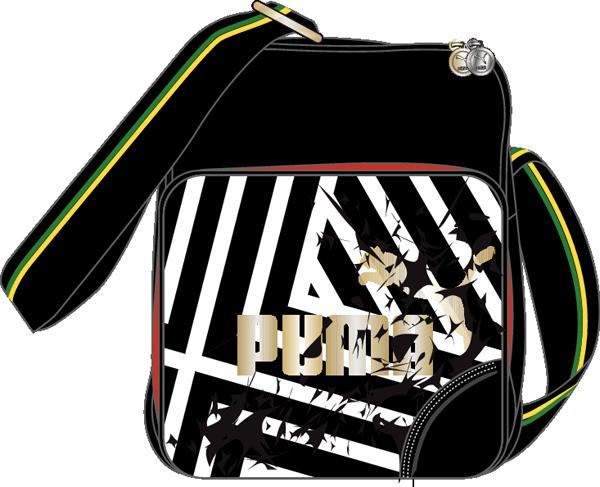 Puma Jamaica Lifestyle Flight Bag Black  289452472a866